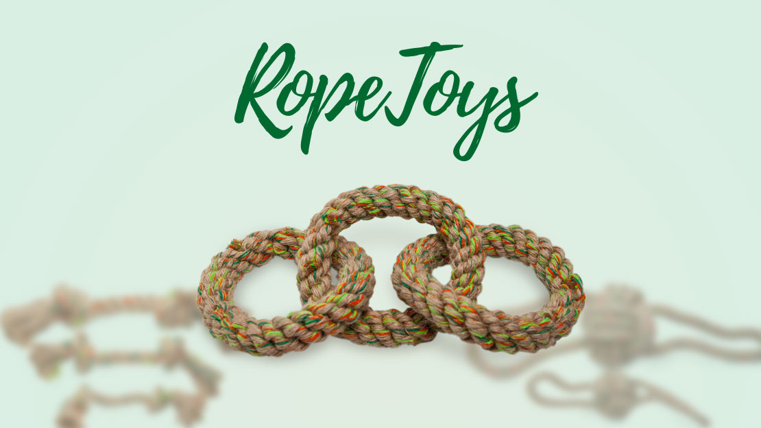 Natural hemp rope toys for dogs, Cotton rope toys for dogs